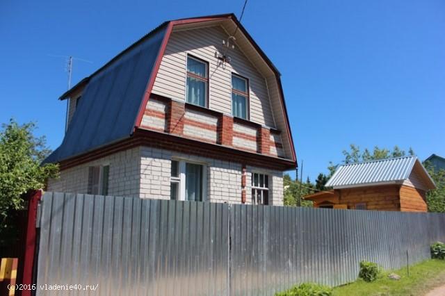 Дача в Обнинске за плотиной
