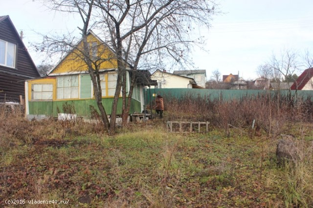 Дача в Обнинске на Красной Горке