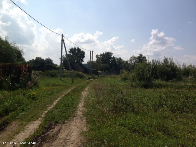 Участок в д. Климкино Боровский район