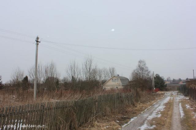 Участок в д. Киселево