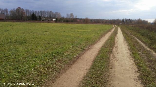 Участок в д. Иклинское Боровский район